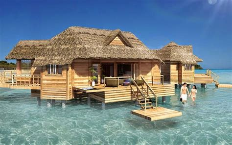 The Caribbean's First Overwater Bungalows  Latitudes Travel