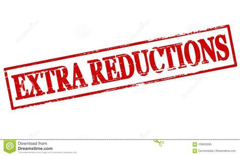 Extra reductions stock illustration. Illustration of ...