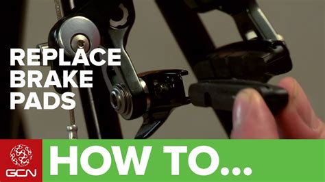 How To Change Your Brake Pads Or Brake Blocks  Youtube