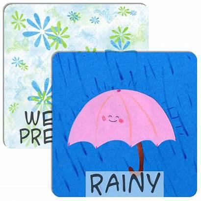 Preschool Thanksgiving Weather Memory Match