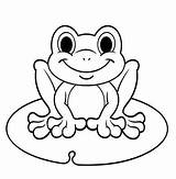 Coloring Frog Pages Cute Animal Frogs Ages Coloringpagesfortoddlers источник sketch template