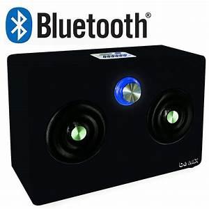Enceinte Radio Bluetooth : grande enceinte radio bluetooth usb vga sd 20w ~ Melissatoandfro.com Idées de Décoration