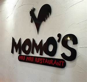 cre8iv minds ltd momo39s peri peri branding signage With raised letters for walls