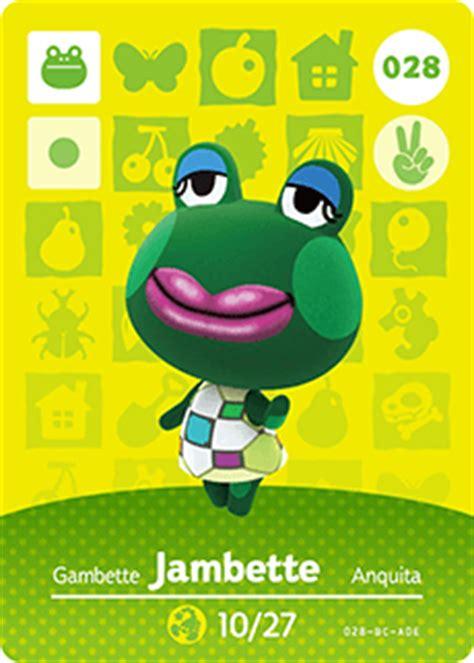Animal Crossing Happy Home Designer Carte Amiibo