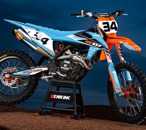 ktm graphics full semi custom motocross graphics mx ink