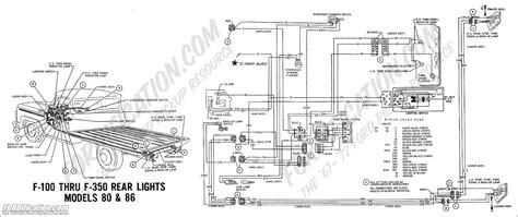 1970 Ford F600 Wiring Diagram by Ford Truck Technical Drawings And Schematics Section H