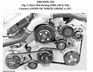 N52 Bmw X5 Belt Diagram  Serpentine Belt Replacement