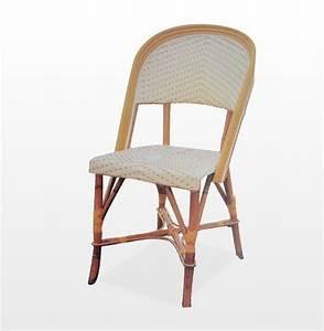 Tabouret En Rotin : saint germain chaise fauteuil et tabouret en rotin ~ Teatrodelosmanantiales.com Idées de Décoration