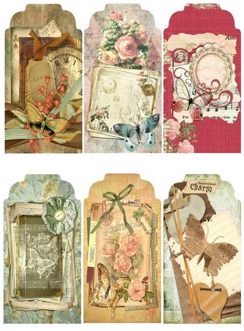 spring  scrapbook paper crafts hang gift tags ebay
