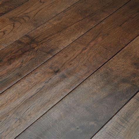 Abbey Whitland 125mm Hand Scraped Coffee Oak Solid Wood