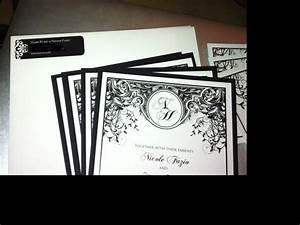 art nouveau deco wedding invitations weddingbee With art deco wedding invitations vistaprint