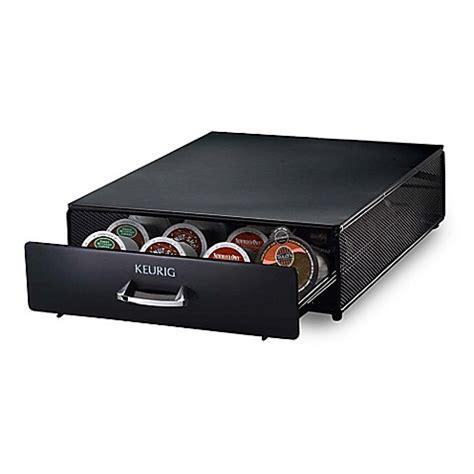 keurig storage drawer keurig 174 2 0 storage drawer www bedbathandbeyond