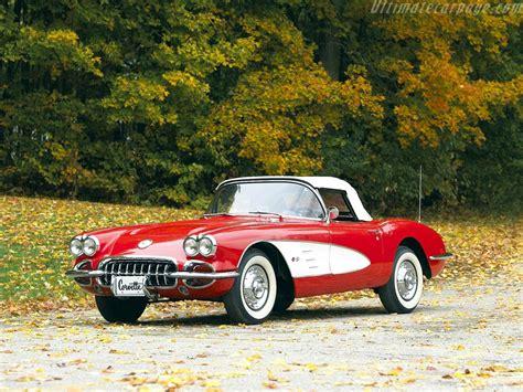 Chevrolet Corvette C1 V8 Convertible High Resolution Image