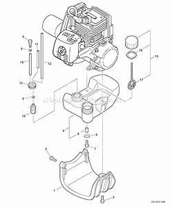 Echo Srm-260u Parts List And Diagram