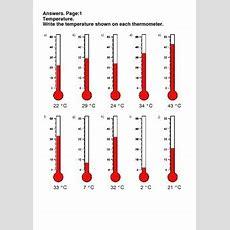 Temperature Worksheets By Whooperswan  Teachers Pay Teachers