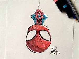 Dibujos de spiderman a color a lapiz para imprimir ...