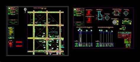 rain water collector design dwg plan  autocad designs cad