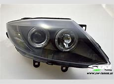 angel eye headlights BMW Z4 e85 0208 2 LED halo rims