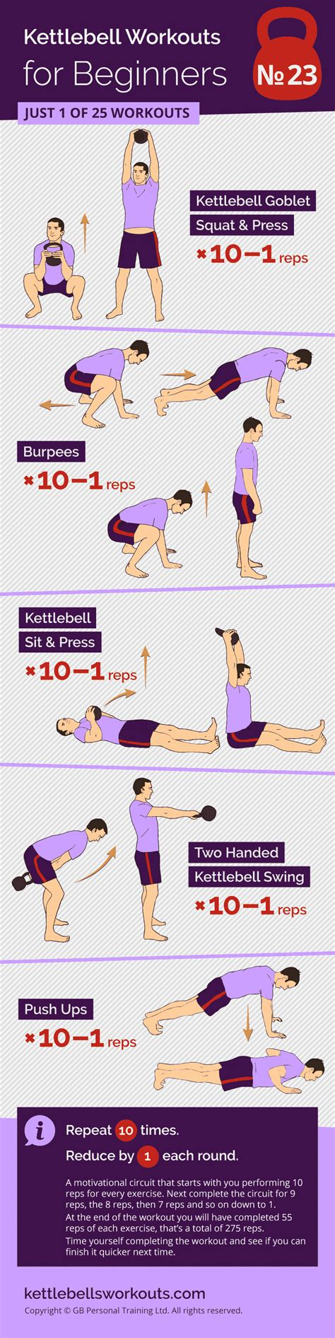 reps workout countdown kettlebell exercises burpee workouts beginners