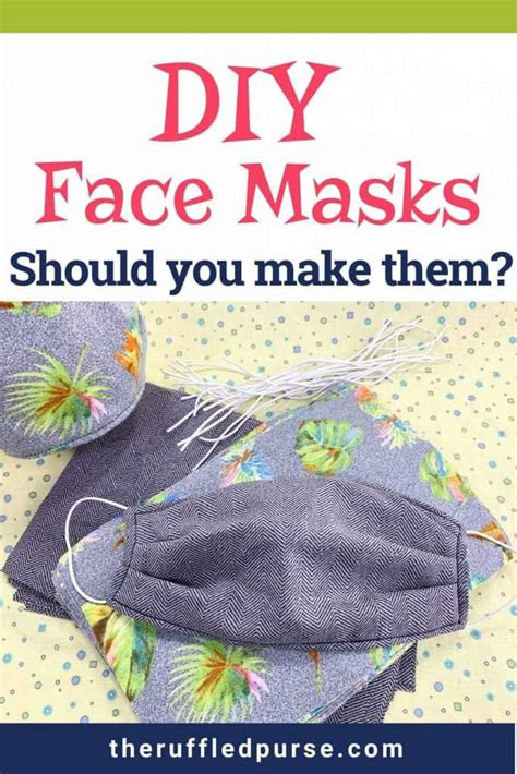 diy face masks   work