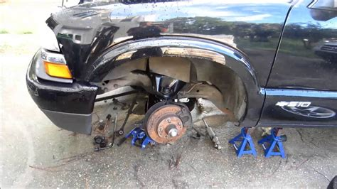 2002 s10 front suspension rebuild youtube