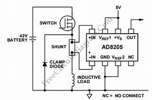 high side current sensing for high side switching circuit With about battery current sensor circuit sensor circuit sensorzine