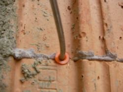 luftschichtanker und duebel in poroton mauerwerk eingesetzt nach din f 195 188 nf pro qm und an ecken 7