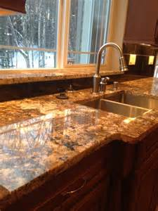 carnival granite with black galaxy island and black galaxy 12x12 tiles