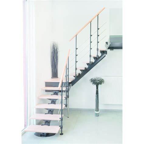escalier en u avec palier escalier quart tournant avec palier sur mesure en kit pr 234 t 224 monter do up quart tournant do up