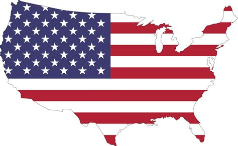 American Clipart American Flag Country Vector Clipart Image Free Stock