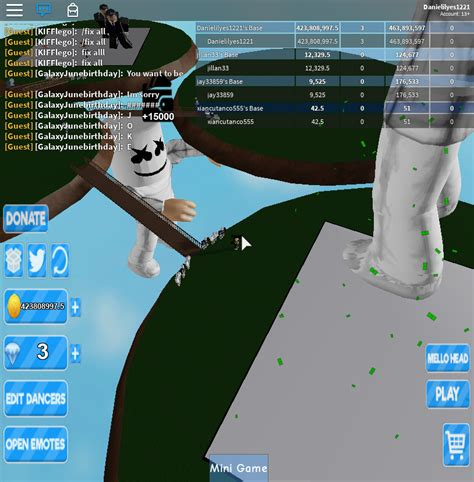 roblox giant dance  simulator seniac