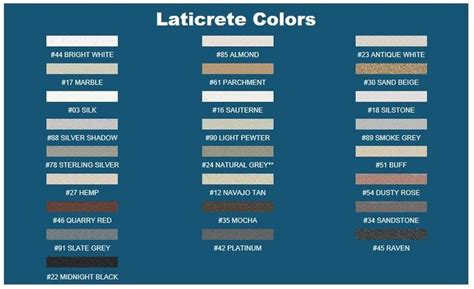 laticrete grout colors laticrete grout color chart search cottage bath