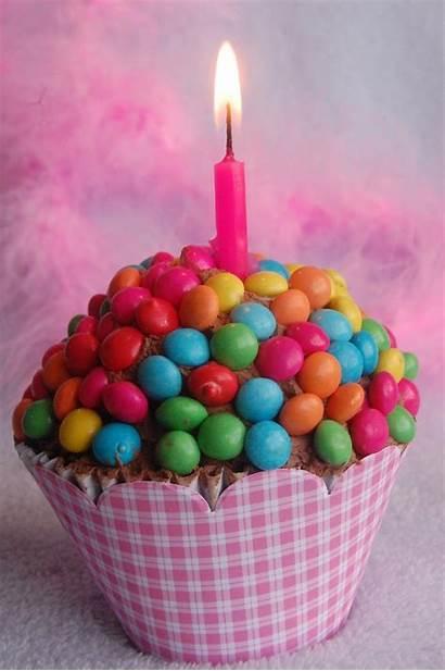 Birthday Cupcake Candy Covered Lovethispic
