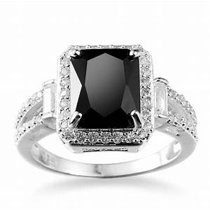 women fashion jewelry 925 sterling silver black onyx With onyx wedding ring women