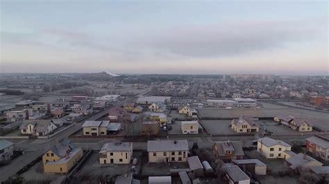VENTSPILS rīta agrumā no putna lidojuma - YouTube