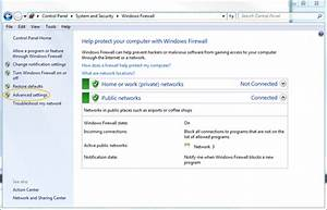 Windows Firewalls