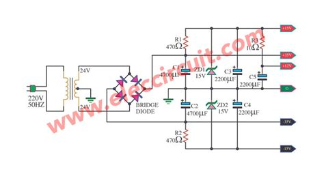 Simple Fixed Regulator Using Zener Diode