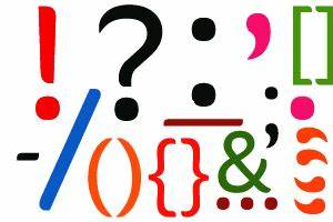 Punctuation clipart - Clipground