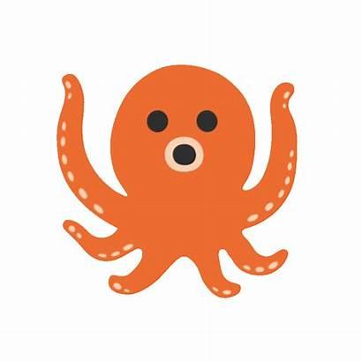 Clipart Octopus Emoji Google Blob Sad Transparent