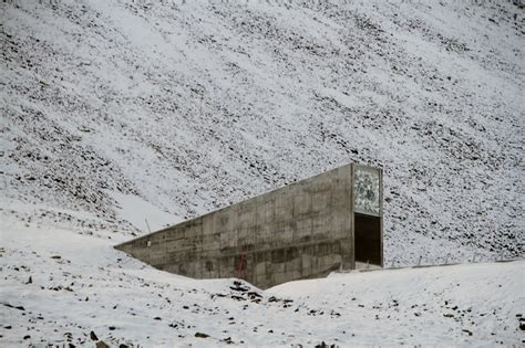 spitsbergen seed vault if nuclear war broke out where s the safest place on earth