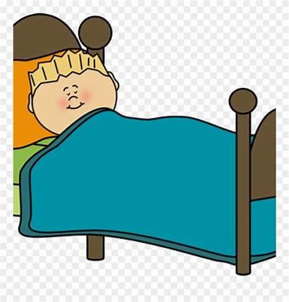 Bed Clipart Boy Sleeping Sleep Going Clip