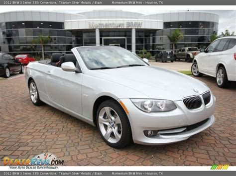 2012 Bmw 335i Convertible by 2012 Bmw 3 Series 335i Convertible Titanium Silver