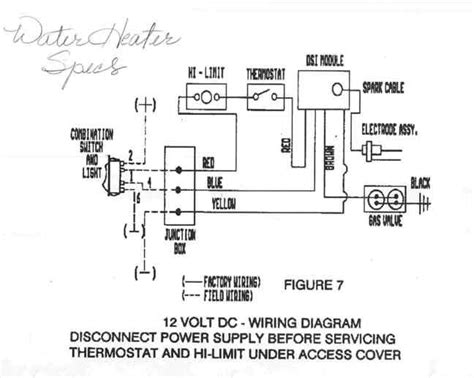 wiring diagram for suburban rv water heater atwood water heater 94026 wiring diagram water gsmx co