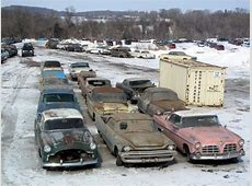 Three of America's Best Salvage Yards Historic Vehicle