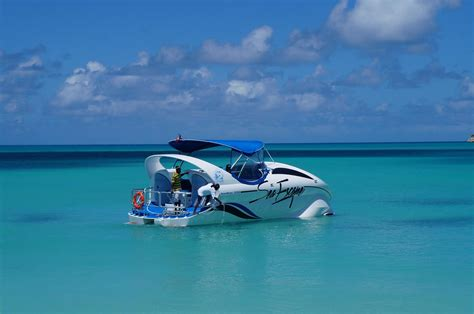 Glass Bottom Boat Tours Antigua by Paradise Reef Snorkeling Special Boat Tour Gordon
