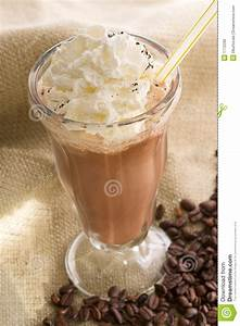 Iced coffee latte stock photo. Image of food, diner ...
