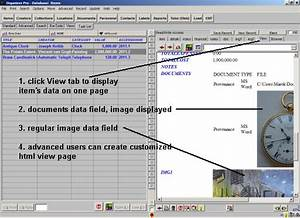 museum inventory software how to enter museum inventory items With document inventory software