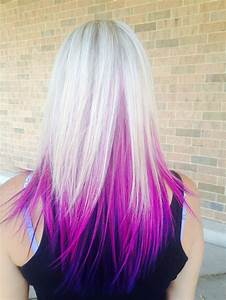Blonde Hair With Pink And Purple Highlights | www.pixshark ...
