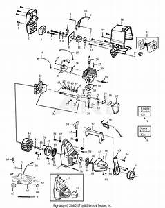 Poulan Hp30t Gas Trimmer Parts Diagram For Engine Block