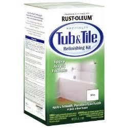rust oleum specialty 1 qt white tub and tile refinishing